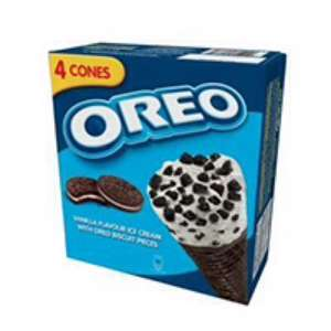 Free 4 pack of Oreo Ice Creams £2.49 @ Tesco (with £2.49 back via Shopitize)