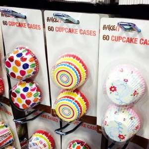 Cupcake Cases- £0.59 @ home Bargains