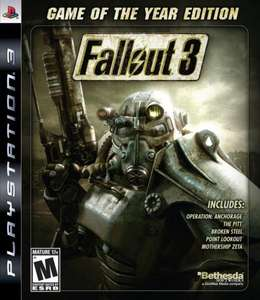 Fallout 3: Game Of The Year, Playstation 3, £4.99 preowned, instore Game