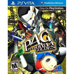 Persona 4 Golden (PS Vita) £16.66 delivered @ Play-Asia