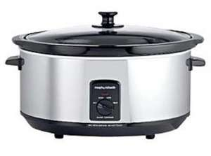 Morphy Richards 6.5 ltr slow cooker, reduced to £23 instore at Asda or also available from Asda Direct