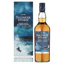 Talisker Storm Scotch Malt Whisky 700ml (Cheapest price this year) £31.70 @ Tesco