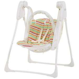 Graco Baby Delight Swing in Candy Stripe £89.99 reduced to £39.99 with Voucher Code and Free Delivery @ Toys R Us