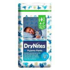 Huggies Drynites Pyjama Pants X10 Boy 4-7 Years £3.00 at Tesco