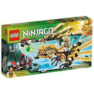 LEGO Ninjago The Golden Dragon @ John Lewis - £16.64