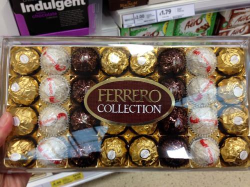Ferrero Collection 32 pieces £6.00 @ Tesco