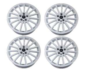 GENUINE Ford RS Accessory 18'' Alloy Wheel Set Of 4 White Painted Finish £288.00 @ Ford Parts UK