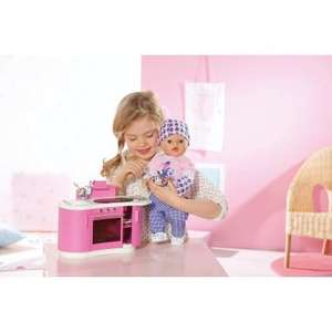 Baby born interactive kitchen at smyths £12.99