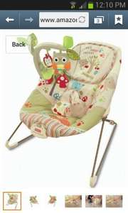 Fisher-Price Woodsy Friends Comfy Time Bouncer: £28.66 @ Amazon