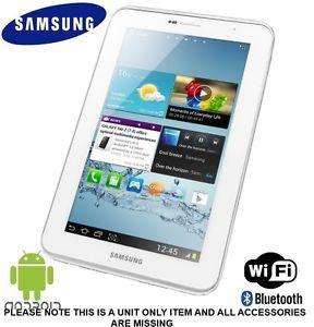 Samsung galaxy tab 2 white 8gb wifi - refurb unit only - £79 @ Tesco ebay