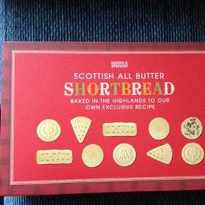 M&S shortbread half price £2.50