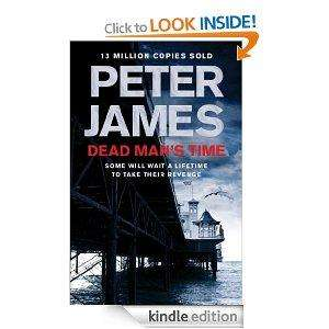 Today Only Nine Peter James kindle books for 99p each @ Amazon