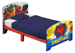 Spiderman toddler bed £29.99  + £3.99 P&P @ big red warehouse