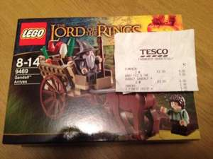Lego 9469 The Lord of the Rings - Gandalf Arrives £3 Tesco instore