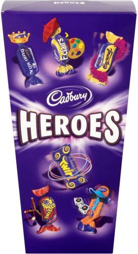 Cadbury Heroes (350g) was £4.00 now £1.05 @ Tesco (INSTORE)