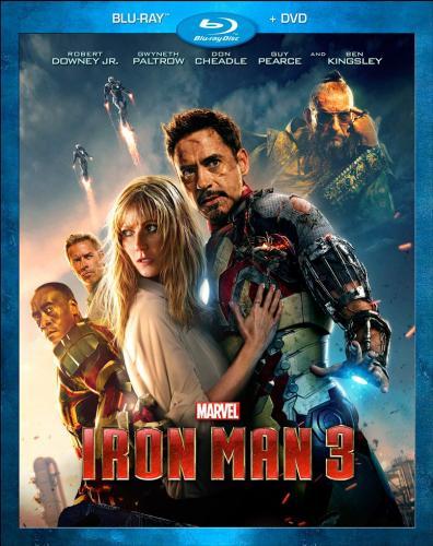 Iron Man 3 Blu Ray Blockbuster Marketplace £5.50 Preowned