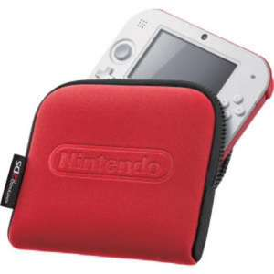 Nintendo 2DS Carrying Case - Red or Blue £7.99 Nintendo store