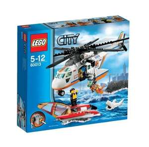 LEGO City Coast Guard Coast Guard Helicopter 60013 £18 @ Tesco Direct