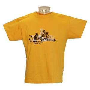 Trespass Mens Pasted Cotton T-Shirt Gold £3.50 from aktive8.com