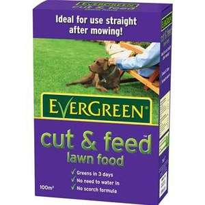 "Evergreen ""cut & feed"" 100m2 refill £1.25 (usually £6.99) instore @ Tesco"