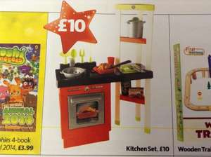Toy kitchen set - £10 instore at Morrisons