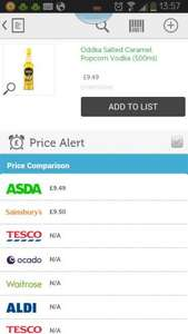 Oddka Vodka Asda £9.49  @ ASDA