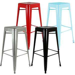 Tolix metal bar stool £19.99 @ Home Bargains