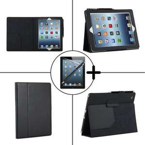 £1.57, TeckNet New iPad Air PU leather case, supplied with screen protector and stylus pen @ BlueByte Ltd Amazon marketplace