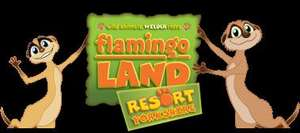 Flamingo land half term offer £40 family 4