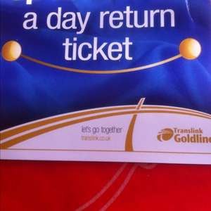 50 per cent off a day return ticket @ Translink