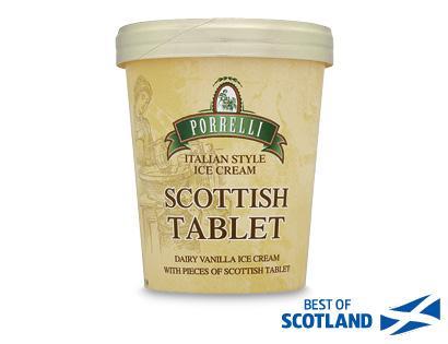 Porrelli's Scottish Tablet Ice Cream £1.89 at Aldi's