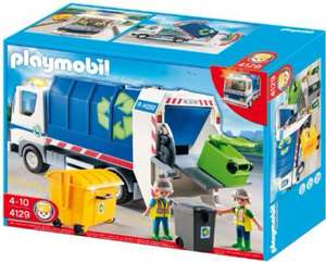 Playmobil 4129 recycling truck with flashing light £13.33 @ amazon