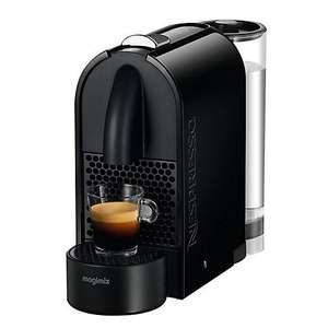 Nespresso U Coffee Machine by Magimix, Black  £79.95 @ John Lewis