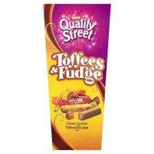 Quality Street Toffee & Fudge Carton 350G or Quality Street Fruit Cremes Carton 355G £2.00 Were £4.00 @ TESCO