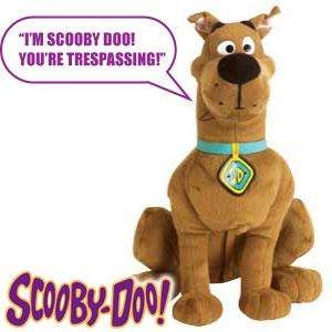 Scooby Doo: Talking Room Guard Dog is Only £8.99 @ Home Bargains.