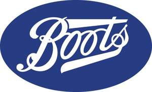 Boots 1,200 points (worth £12) on £50 instore spend Wed or Thu