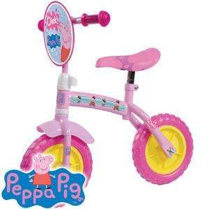 Peppa Pig 2-in-1 Training Bike 29.99 rrp 39.99 @homebargains