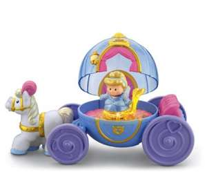 Fisher price little people Cinderella coach £13.50 at amazon