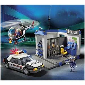 Toys R Us Playmobil Police Set (5607) reduced from £79.99 to £39.99 then £34.99 with code!