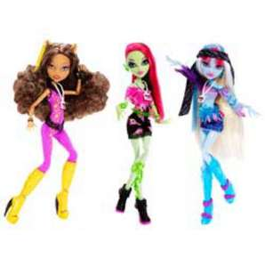 Monster High Music Festival Dolls reduced @ Argos to £6.49