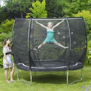 Plum 8ft Magnitude Trampoline with 3g enclosure and free anchor kit £149.95 delivered @ ActivityToysDirect