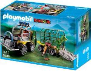 Playmobil 5236 dinosaur transport vehicle £14.98 @ Amazon