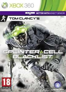 Splinter Cell - Blacklist Pre-owned Xbox/PS3 £12.99 @Blockbuster.co.uk using code OCT5