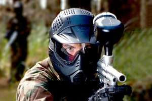 Paintball With 100 Balls and Light Lunch from £5 at Allied Paintball via Groupon
