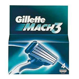Gillette Mach 3 Blades (4 Blades)   Semichem - Deal of The Week  5.89 Eack pack of four and a one of delivery charge of 2.95