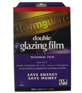Storm Guard Window Insulation Secondary Glazing Film @Amazon