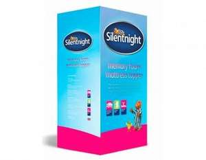 Silentnight Impress Contour 3cm Kingsize Memory Foam Mattress Topper £32.99 (+£3.99 delivery) @ The Bedding company