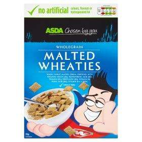ASDA Malted Wheaties 750g only £1 was £1.50 (Same as Shreddies)