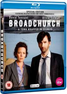 Broadchurch (Special Edition) (Blu-ray) PreOrder £14.99 @ Base