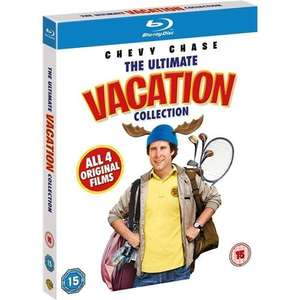 National Lampoon's Vacation Box Set (Blu-ray) 4 Discs £9.99 @ Play via Entertainment Store
